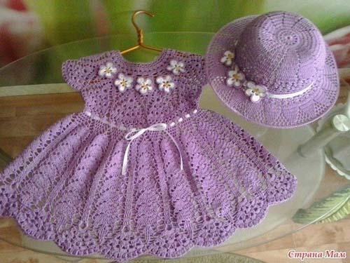 Esquema para tejer vestidos para niñas a crochet06