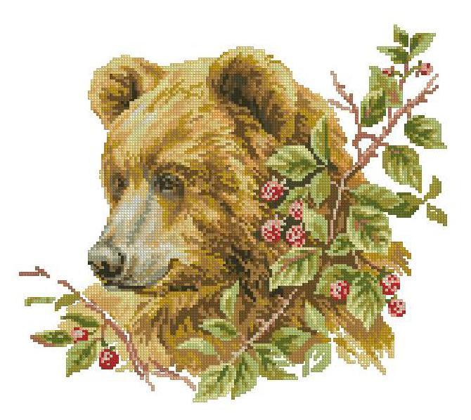 Graficos de osos en punto de cruz02