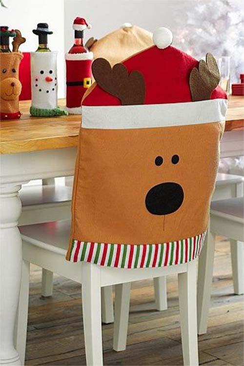 Ideas para hacer cubresillas navideños en fieltro y tela01