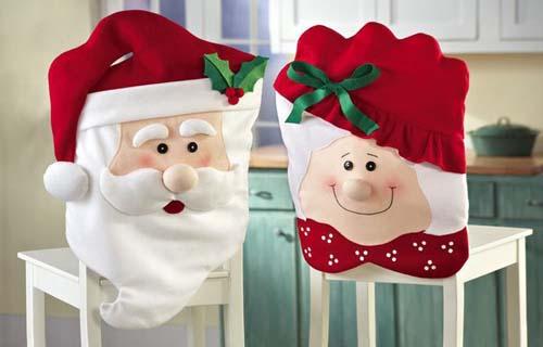 Ideas para hacer cubresillas navideños en fieltro y tela05