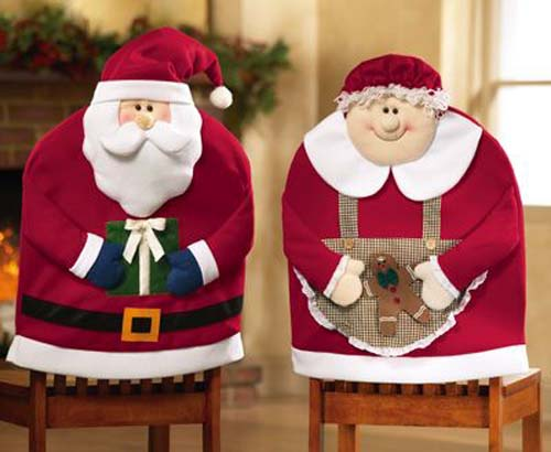 Ideas para hacer cubresillas navideños en fieltro y tela08