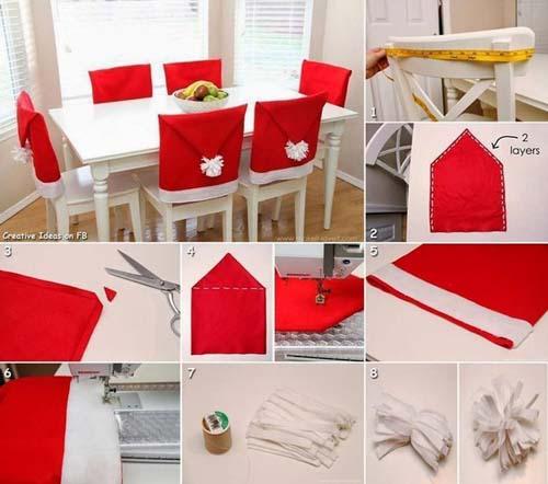 Ideas para hacer cubresillas navideños en fieltro y tela09
