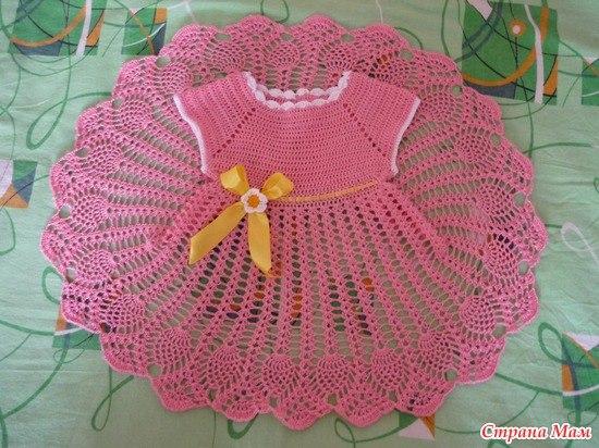 Ideas para tejer vestidos a crochet para niñas03