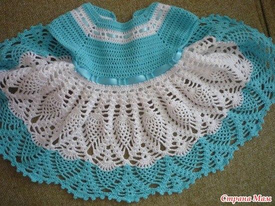 Ideas para tejer vestidos a crochet para niñas06