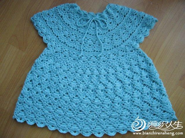 Modelos para hacer bonito vestido a crochet para niñas04