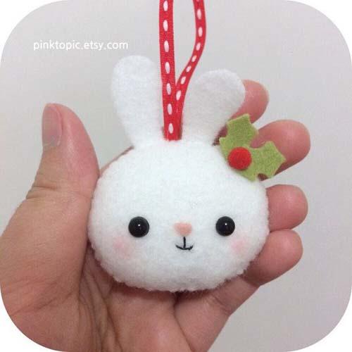 Moldes de conejos navideños en fieltro06