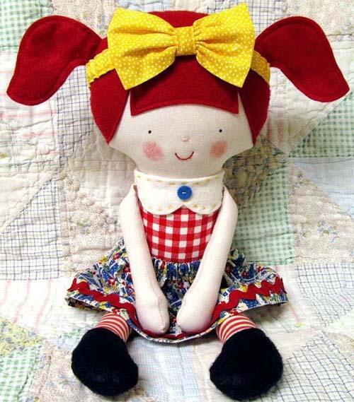 Moldes gratis para hacer muñecas de fieltro01