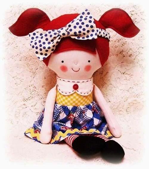 Moldes gratis para hacer muñecas de fieltro06
