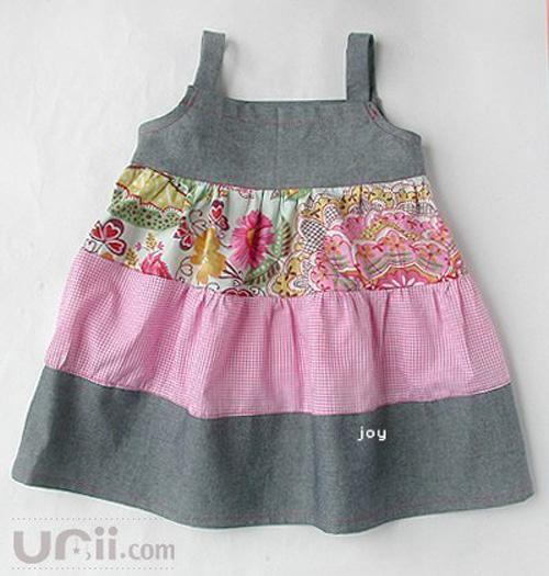 Moldes para hacer vestidos olgados para bebes02