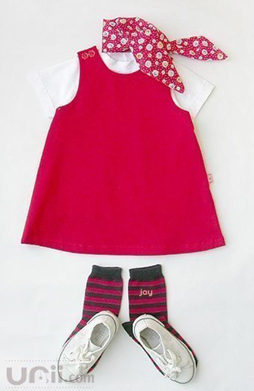 Moldes para hacer vestidos olgados para bebes05