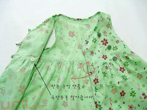 Moldes para hacer vestidos olgados para bebes07