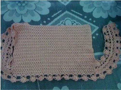 Moldes para tejer una tunica a crochet para niñas01