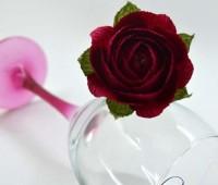 Como hacer rosas de papel crepe paso a paso