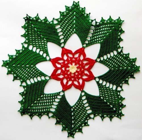 Patron mantel navideño tejido a crochet02