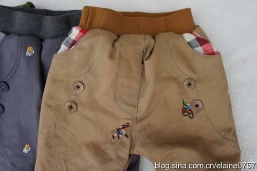 Patron para hacer un pantalon para bebe03