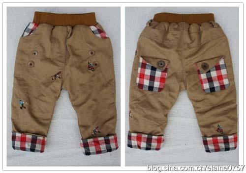 Patron para hacer un pantalon para bebe05