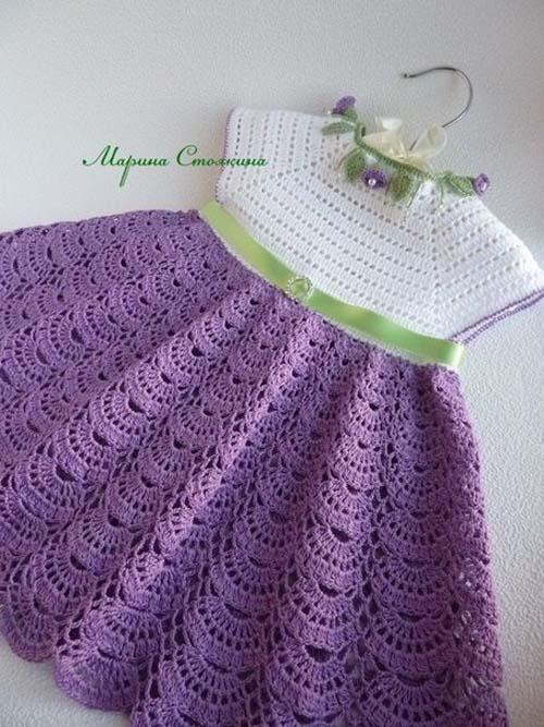 Patron para hacer un vestido bonito a crochet04