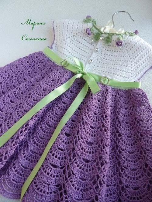 Patron para hacer un vestido bonito a crochet05
