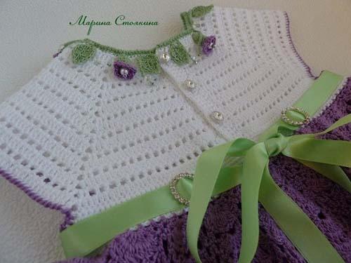 Patron para hacer un vestido bonito a crochet08