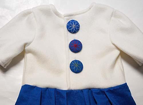 Patron para hacer un vestido con moño para niña08