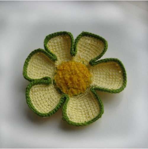 Patron para hacer un vestido de dos colores a crochet