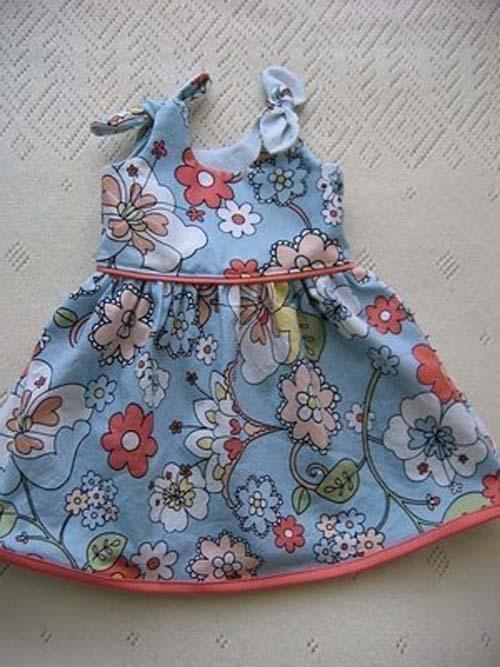 Patron para hacer un vestido hermoso para niñas03