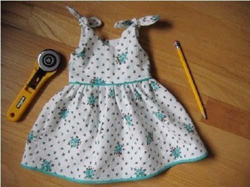 Patron para hacer un vestido hermoso para niñas04