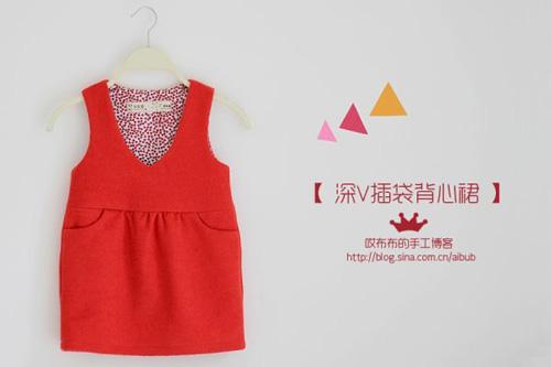 Patron para hacer un vestido para niñas gratis02