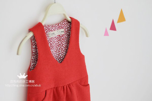 Patron para hacer un vestido para niñas gratis06