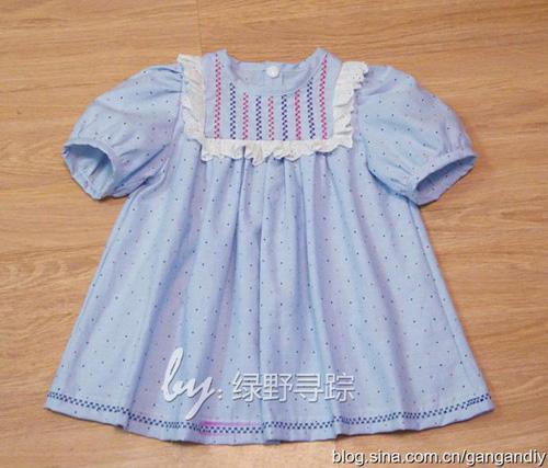 Patron para hacer una blusa para niñas02