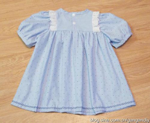 Patron para hacer una blusa para niñas03