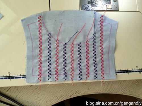 Patron para hacer una blusa para niñas05