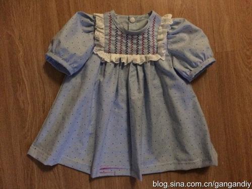 Patron para hacer una blusa para niñas07