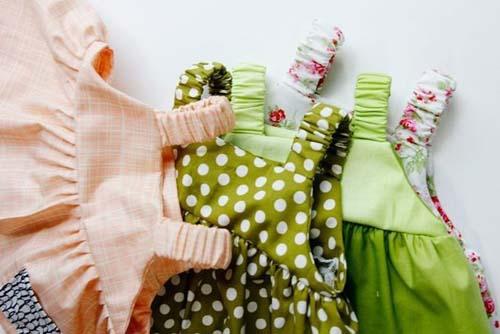 Patron para hacer vestidos de tirantes para bebe01