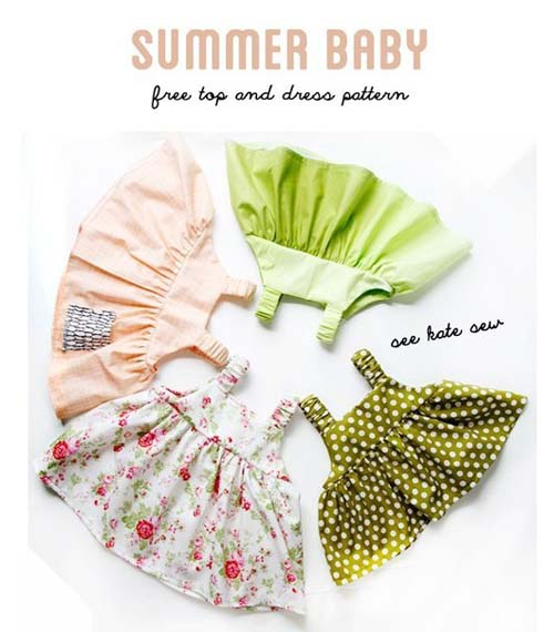 Patron para hacer vestidos de tirantes para bebe07