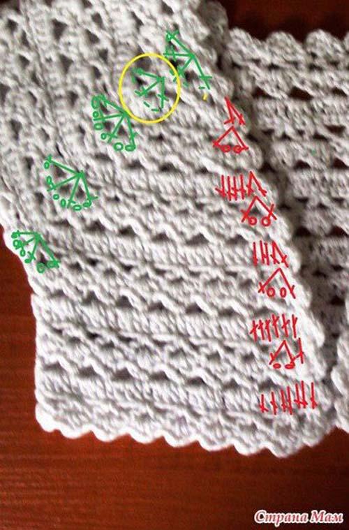 Patron para tejer un bolero para niña a crochet03 6cf909f358b