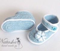 modelos para tejer zapatitos para bebes a crochet