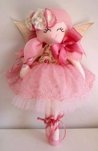 Simpática muñeca de tela fáciles de hacer06