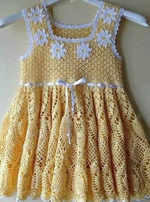 Vestido circular para niña con esquema03