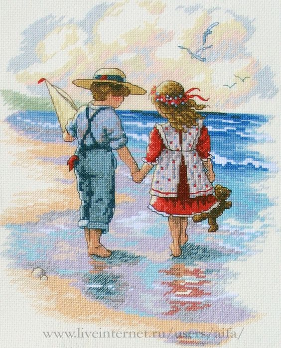 figuras de niños en punto de cruz (1)