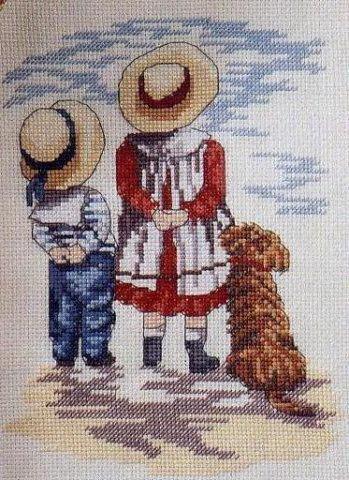 figuras de niños en punto de cruz (3)
