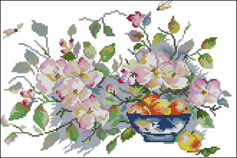 flores en punto de cruz (1)
