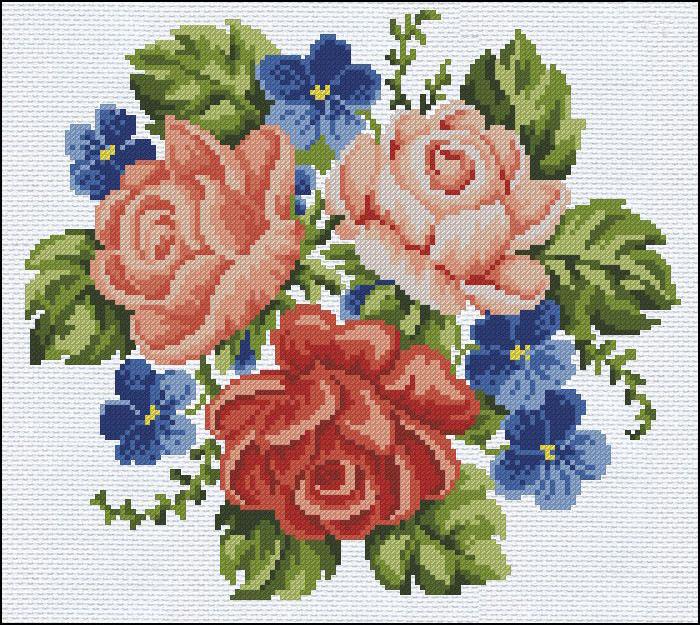 flores en punto de cruz (11)