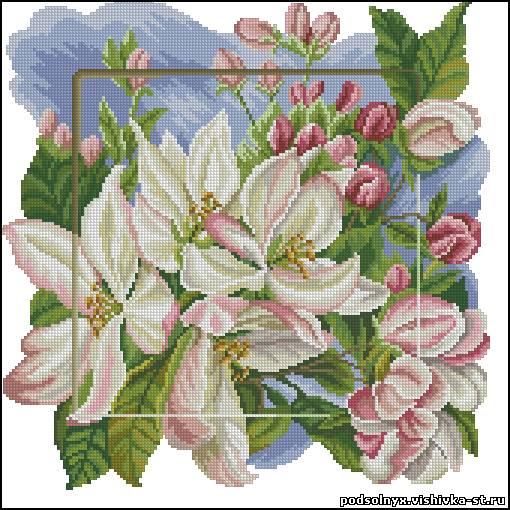 flores en punto de cruz (3)