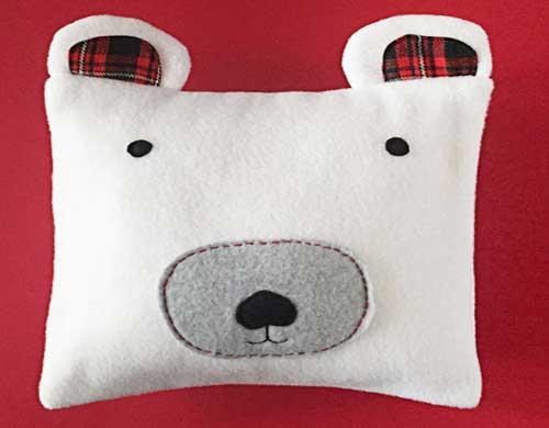 fundas de almohadas con forma de oso3