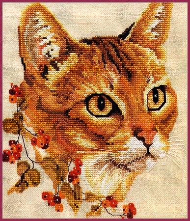 gatos en punto de cruz01