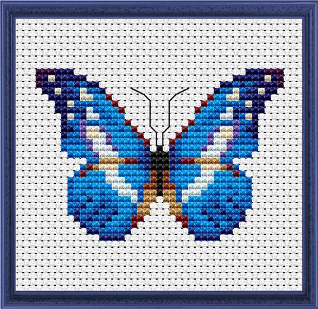 mariposas punto de cruz (1)