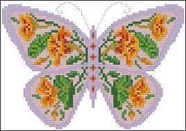 mariposas punto de cruz (2)