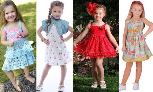 vestidos para niñas de 4 a 6 años (2)