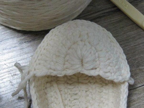 Botines tejidos a crochet para bebes03